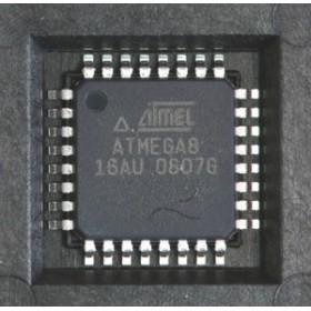 ATMEGA8-16AU  8-bit Microcontrollers  SMD TQFP-32