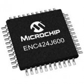 ENC424J600 -IPT  SMD  ETHERNET CONTROLLER 44-PIN