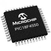SMD  Flash USB Microcontrollers  میکرو کنترولر 8 بیت  PIC18F4550-I/PT