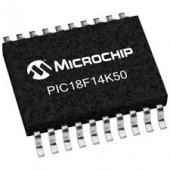 PIC18F14K50-I/SO SMD  USB Flash Microcontrollers