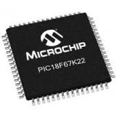 PIC18F67K22 - I/PT  SMD  12-Bit A/D  1-Mbit Enhanced Flash