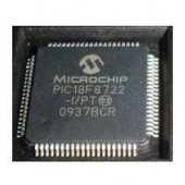 PIC18F8722-I/PT SMD  USB 2.0   Flash Microcontrollers