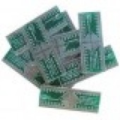 برد تبدیل PCB SMD TO DIP ADAPTOR QFP-44