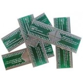 PCB SMD TO DIP64 ADAPTOR  QFP-64  FOR  AMEGA64-AMEGA128