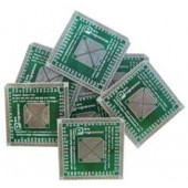 برد تبدیل  PCB SMD TO DIP64 ADAPTOR QFP-64  FOR  AMEGA64-AMEGA128